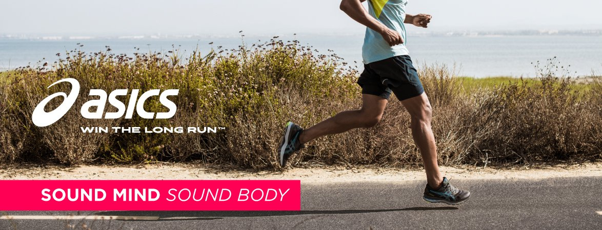 Asics: Sound Mind, Sound Body