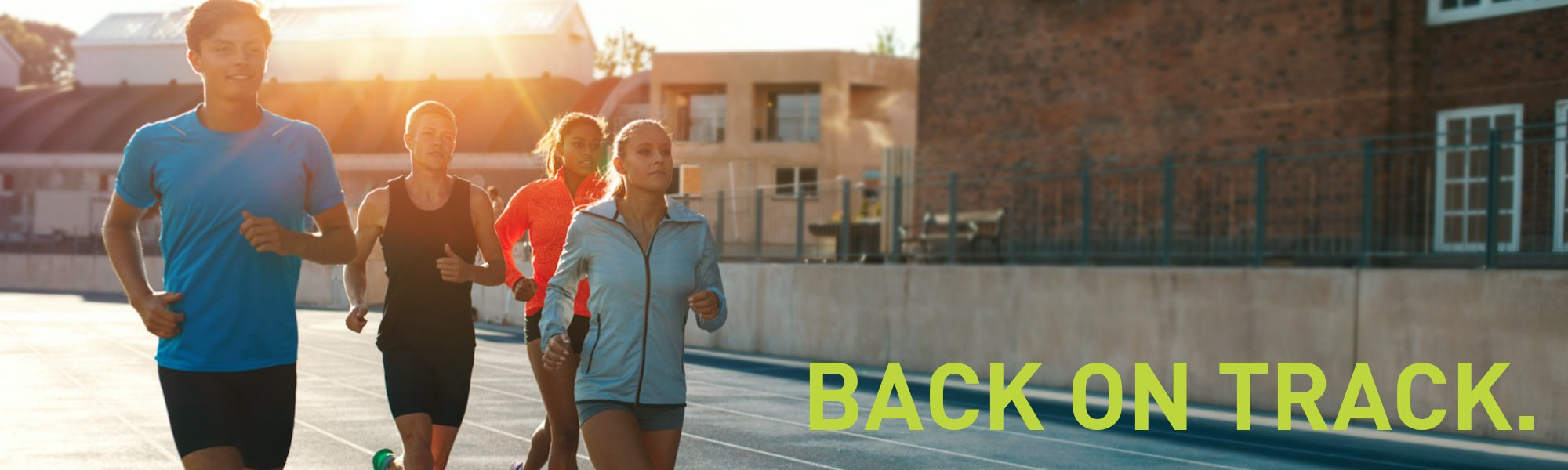 Get your fitness BACK ON TRACK
