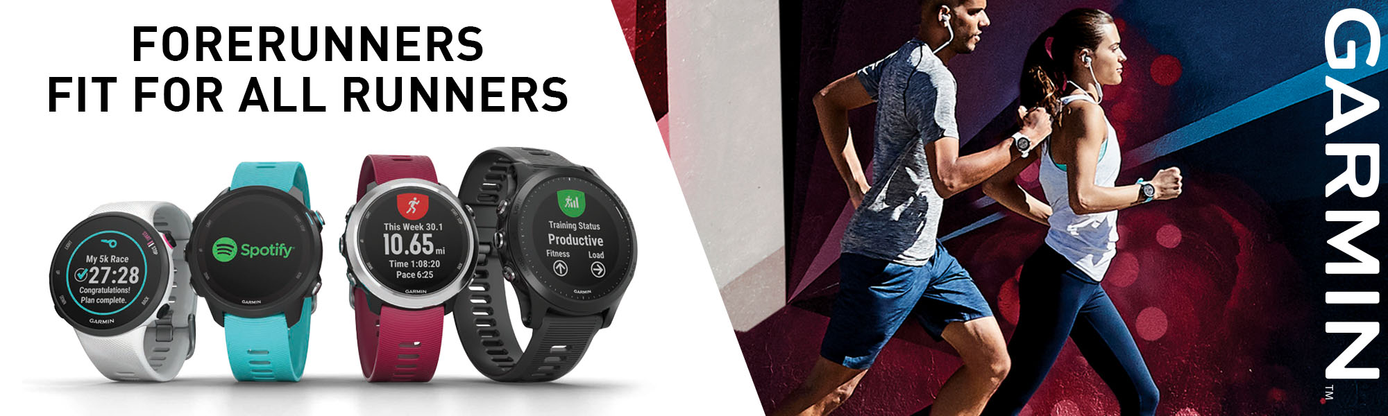 What's new from Garmin? Forerunners for all runners!