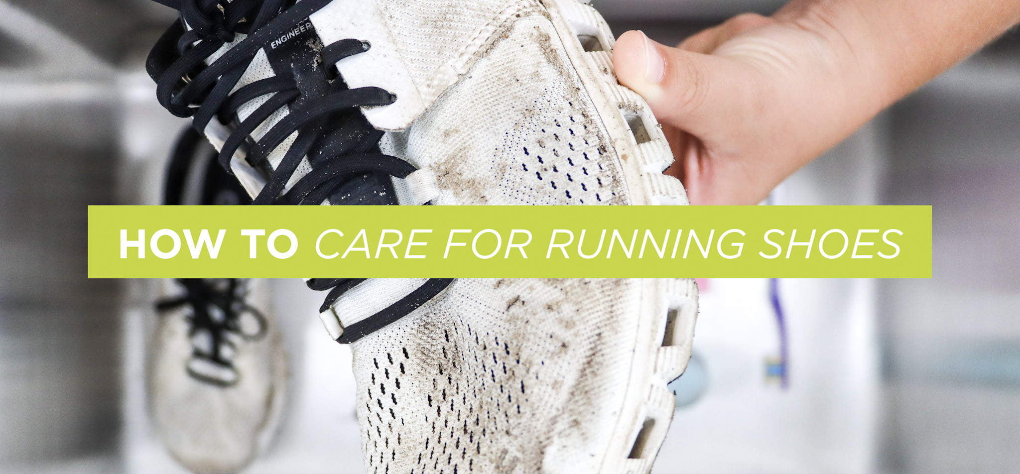 How to Care for Running Shoes