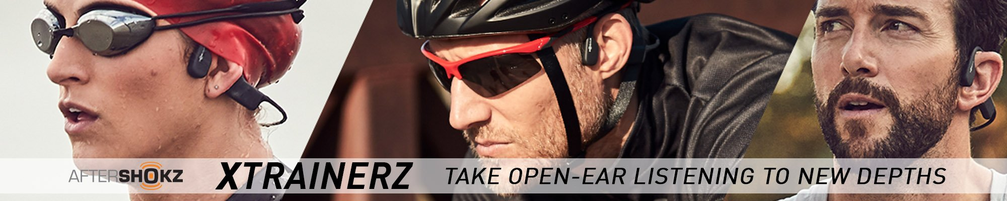The AfterShokz Xtrainerz - New waterproof headphones