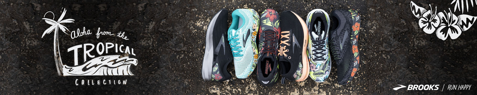 Brooks Tropical Collection
