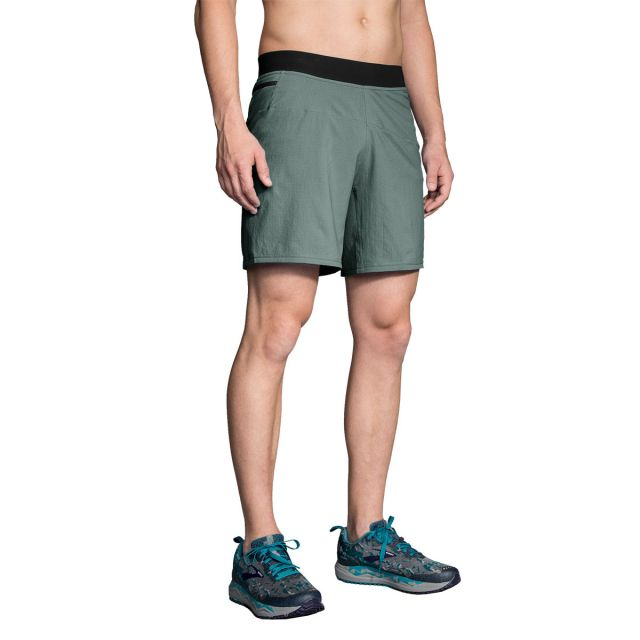 "Brooks Men's Cascadia 7"" 2-in-1 Short"