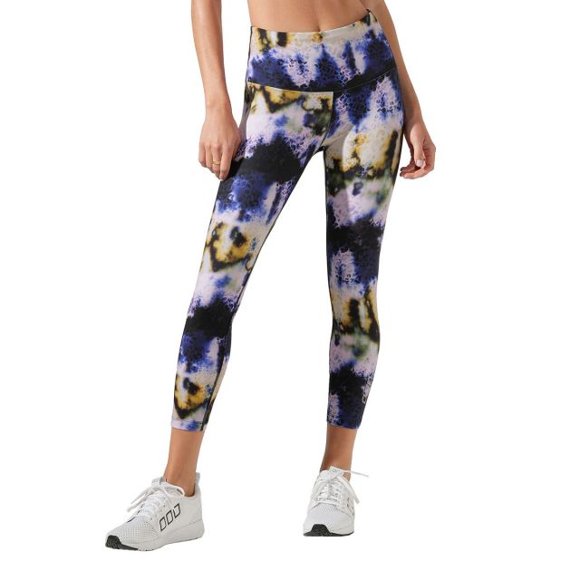 Lorna Jane Women's Tie Dye Core Ankle Biter Tight