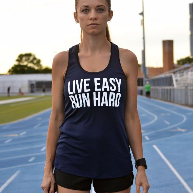 Sarah Marie Women's Live Easy Run Hard Racerback