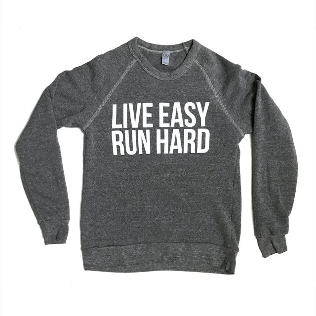 Sarah Marie Women's Live Easy Run Hard Sweatshirt
