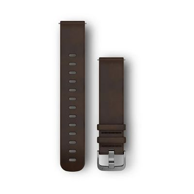 Garmin 20mm Quick Release Leather Band