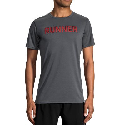 Brooks Men's Distance Graphic Shortsleeve