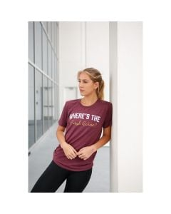 Pep & BB Women's Where's the Finish Wine Shortsleeve