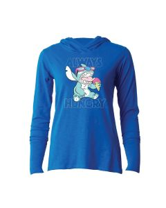 Raw Threads Women's Lilo & Stitch Always Hungry Hoodie