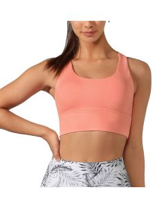 Lorna Jane Minimal Long Line Racer Sports Bra