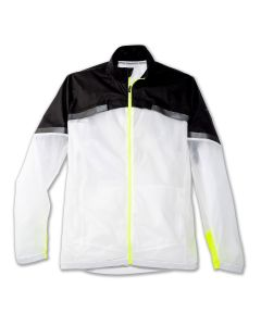 Brooks Men's Run Visible Carbonite Jacket