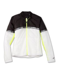 Brooks Women's Run Visible Carbonite Jacket