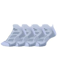 Runners Choice Cushion No Show DT Solid Socks - 4 Pack