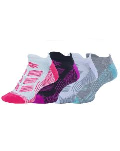Runners Choice Cushion No Show DT Socks - 4 Pack