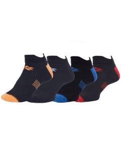 Runners Choice Super Thin Solid Socks - 4 Pack