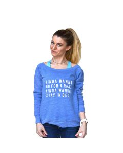 Sarah Marie Women's Kinda Wanna Run Sweatshirt