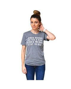 Sarah Marie Unisex Kinda Wanna Run Shortsleeve