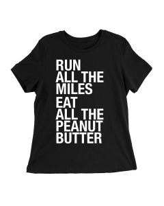 Sarah Marie Women's Eat All the Peanut Butter Shortsleeve