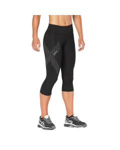 2XU Women's Mid-Rise 3/4 Compression Tight