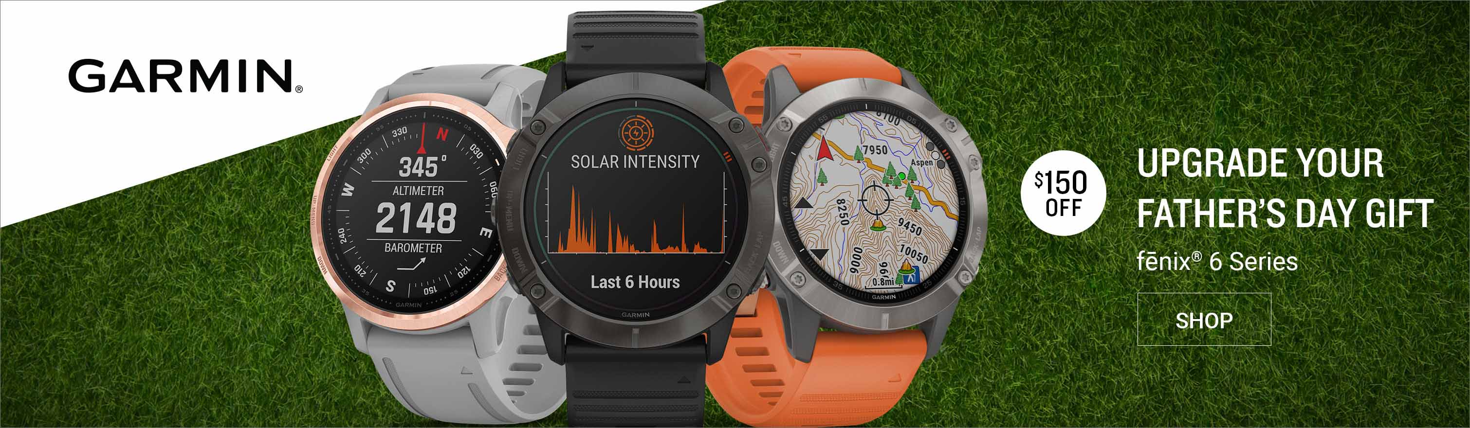 Save up to $150 on Select Garmin Fenix Watches