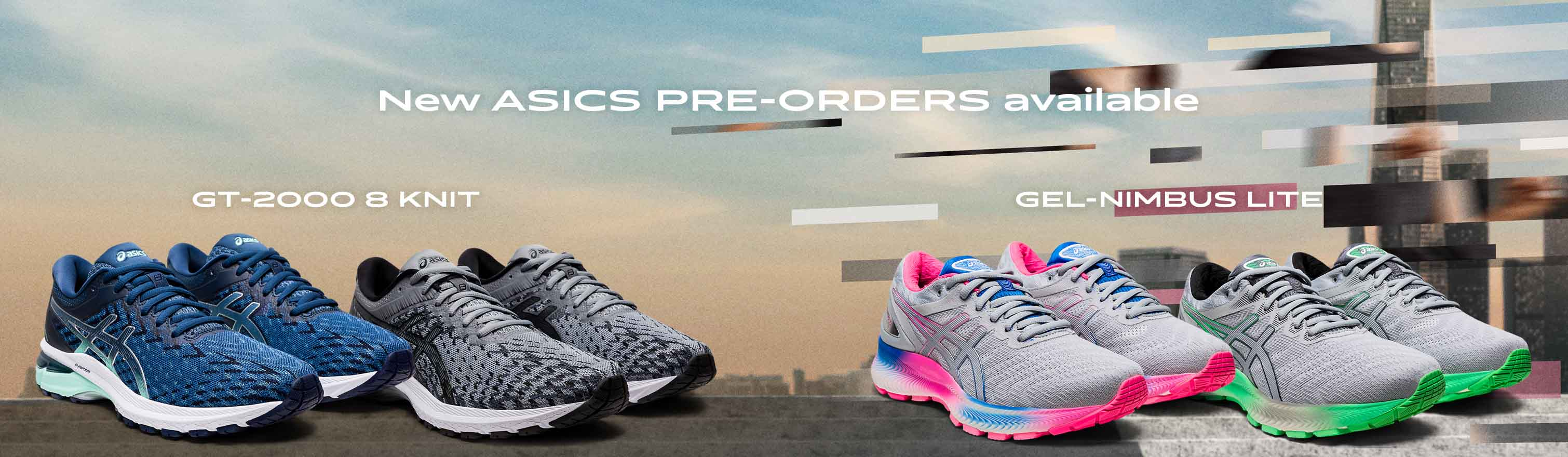 Pre-Order the Asics GT 2000 8 Knit and the GEL Nimbus LITE