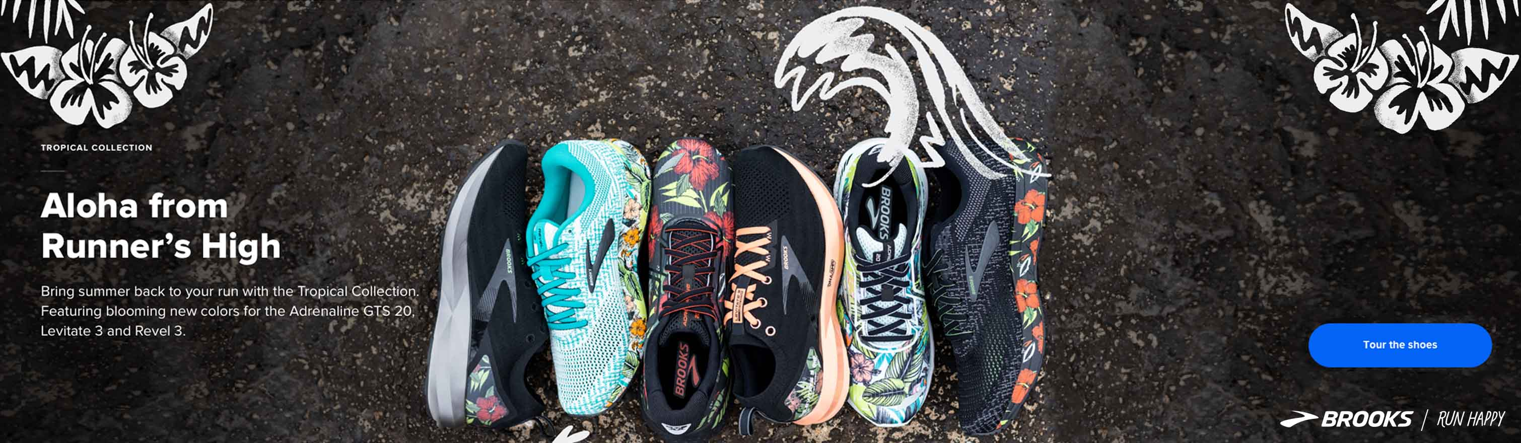 Shop the Brooks Tropical Collection