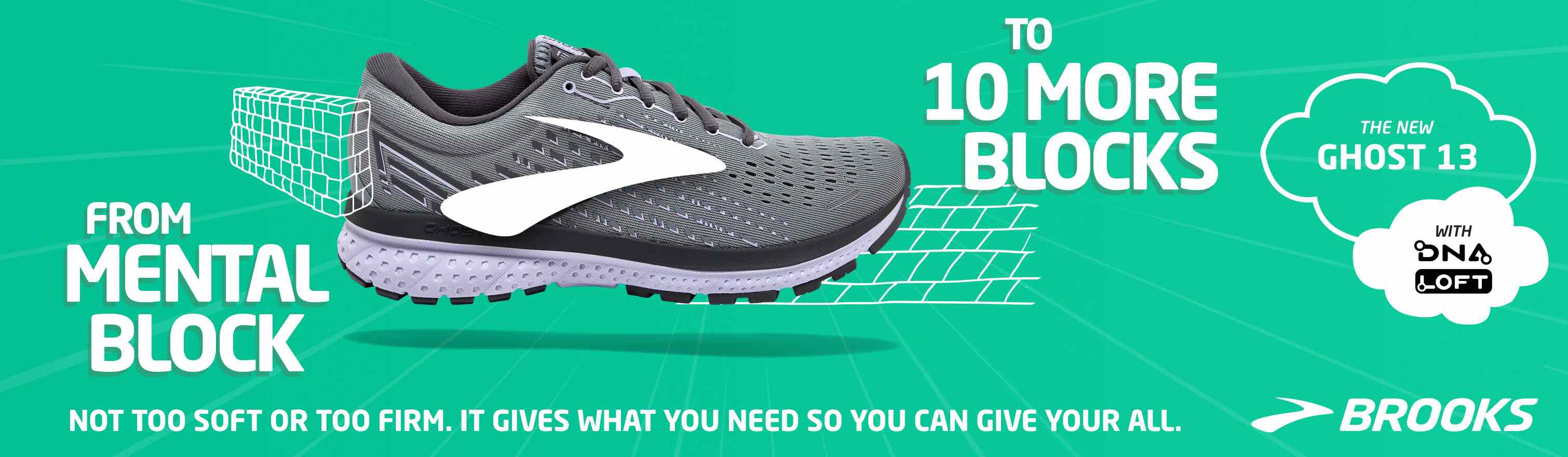 Go From Grinding to Gliding in the Brooks Ghost 13