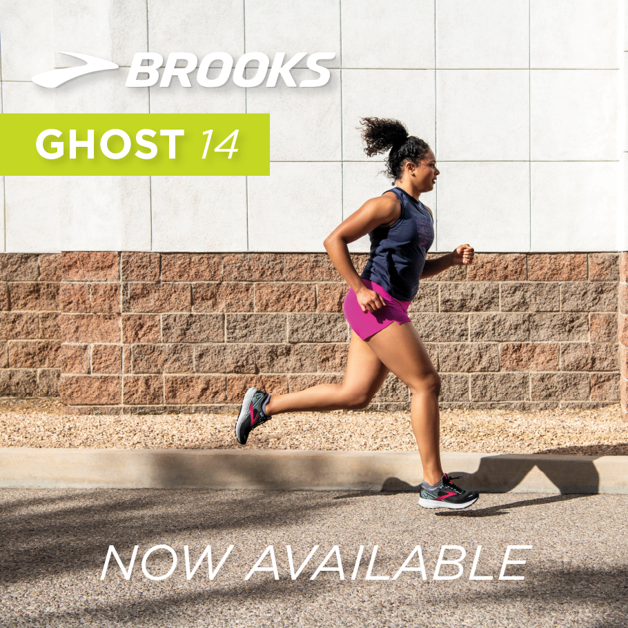 Brooks Ghost 14 Now available