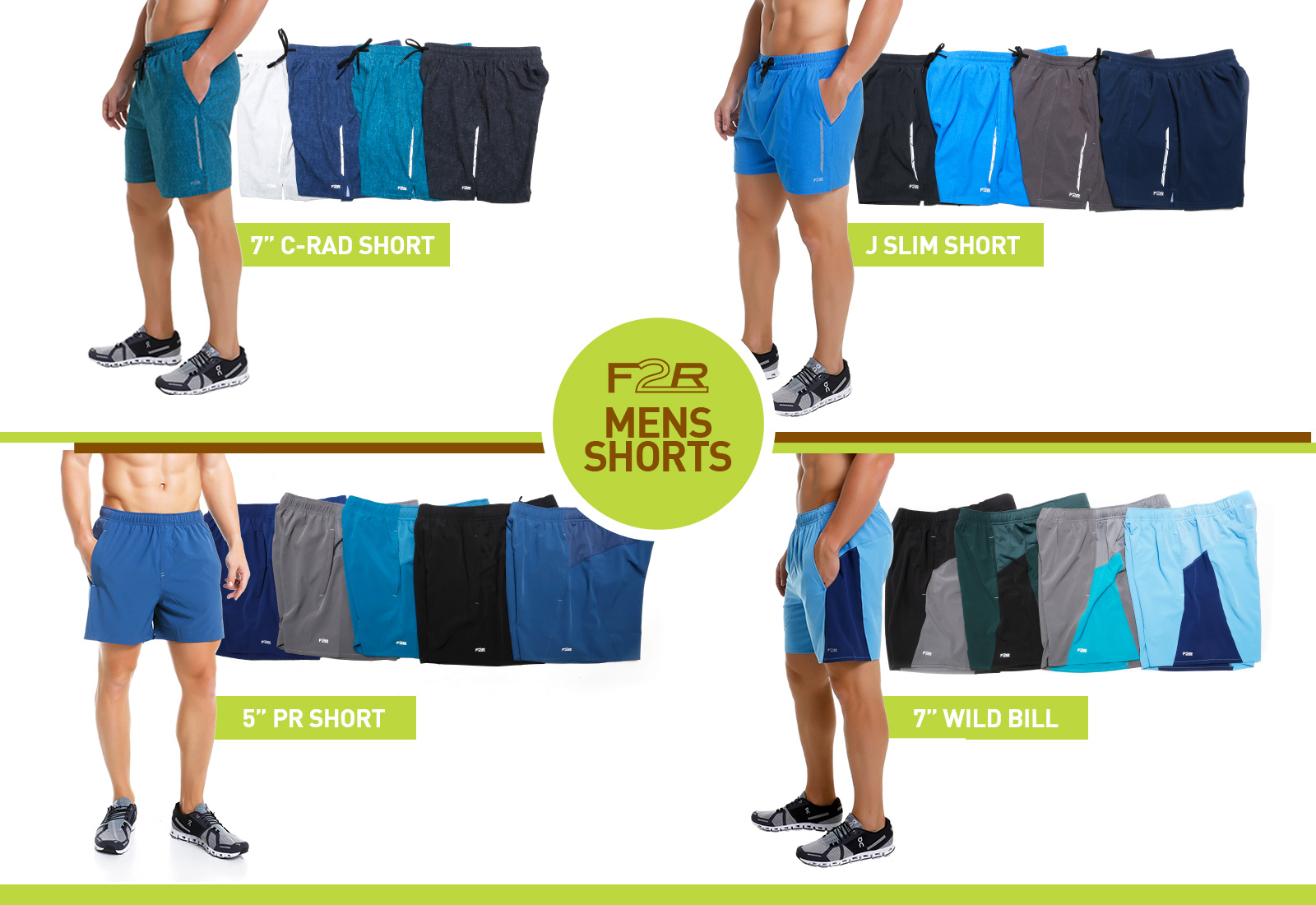 Fit2Run Offers High-Performance, Comfortable Running Shorts at a Great Price Point