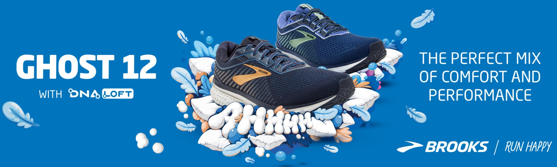 The New Brooks Ghost 12