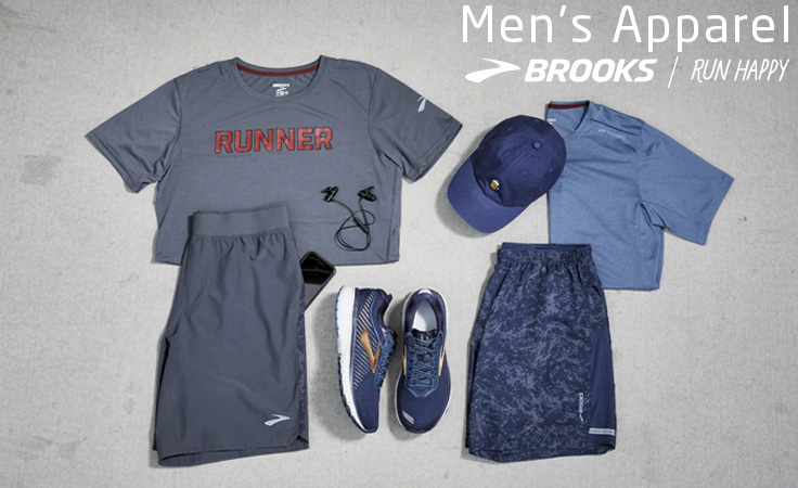 Men's Brooks Apparel