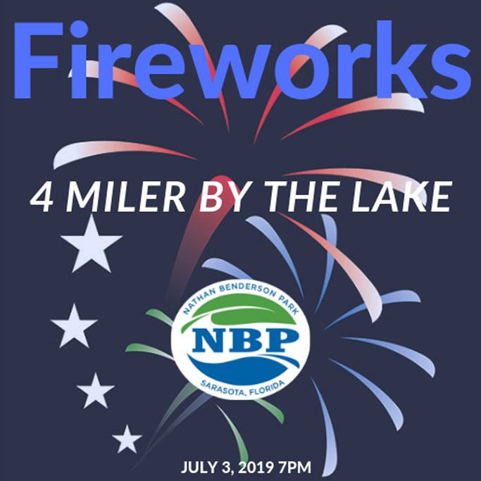 Sign up for the Fireworks 4 Miler