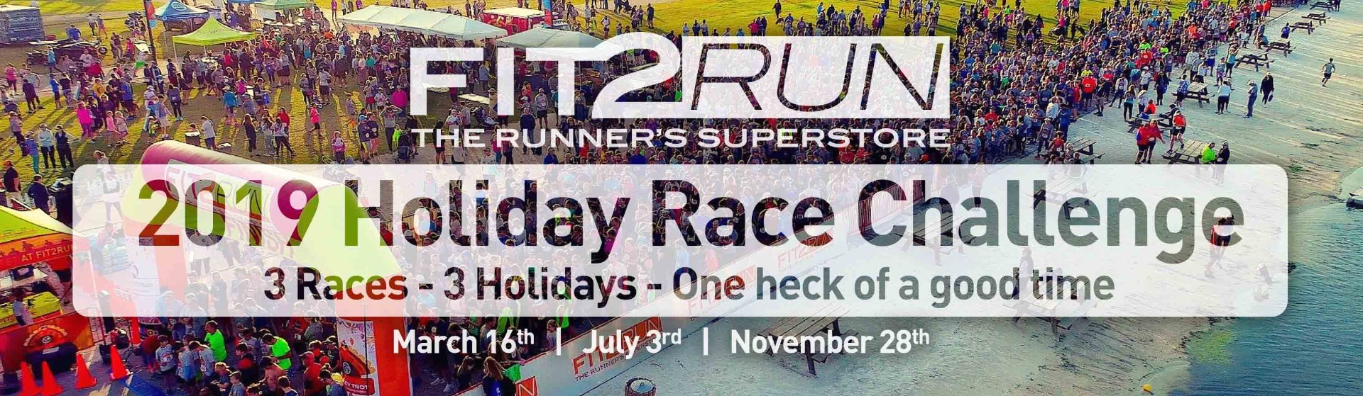 Sign up for the Fit2Run Holiday Race Challenge
