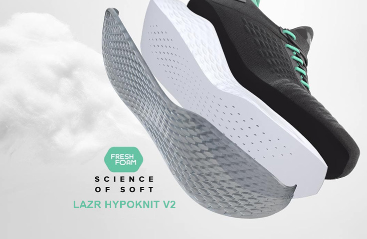 New Balance Lazr Hypoknit Running Shoes