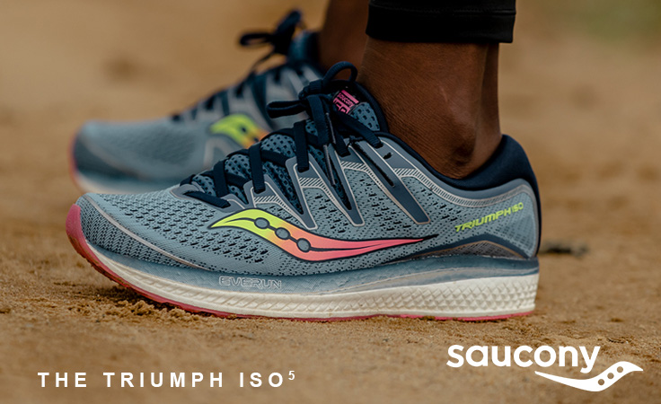Saucony Hurricane ISO 5 Running Shoes