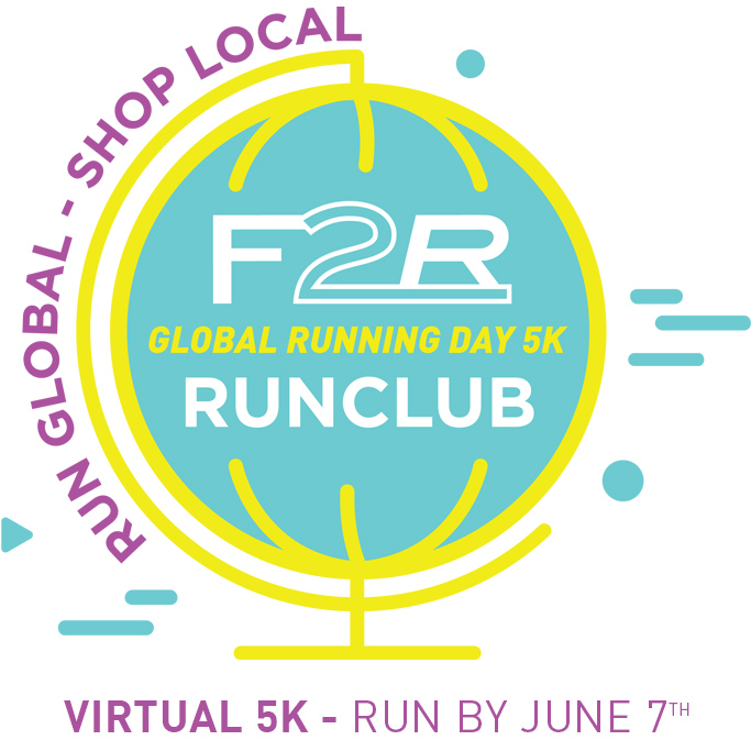 Sign up for the Global Running Day 5k Virtual Race