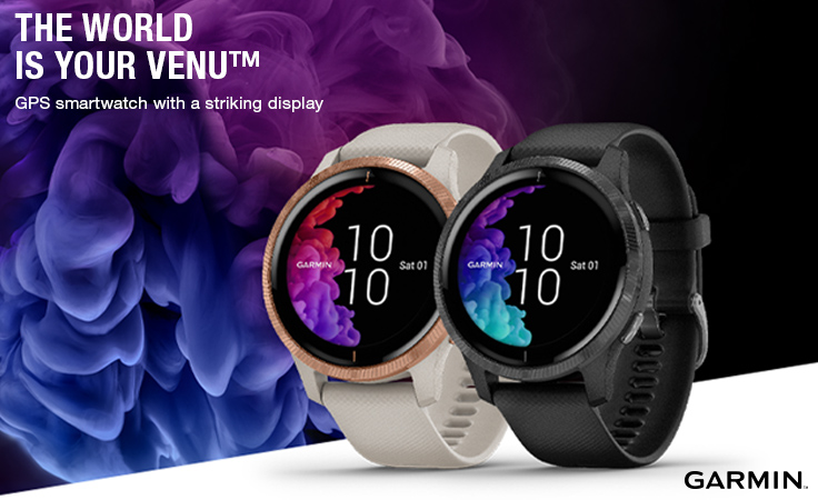 Garmin Venu - The world is your Venu
