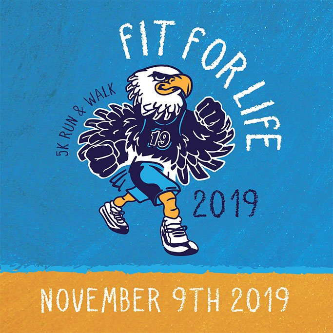 Sign up for the 2019 Fit for Live 5K