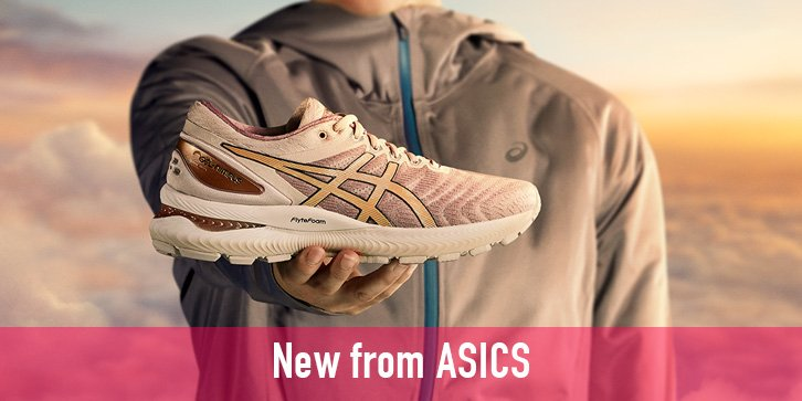 New women's Asics Running Shoes