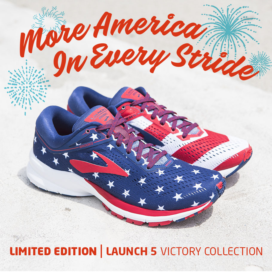 Brooks Limited Edition Launch 5 Victory