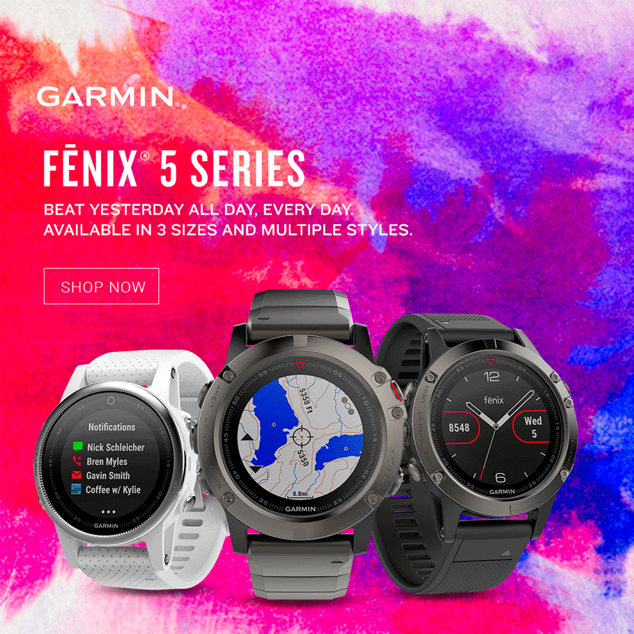 Garmin Fenix Running Watch