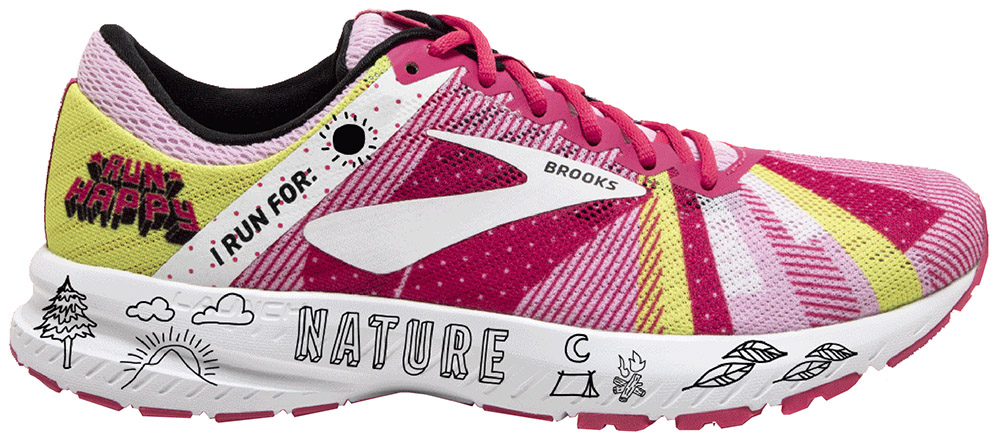 Brooks Launch 6 Run Happy Edition