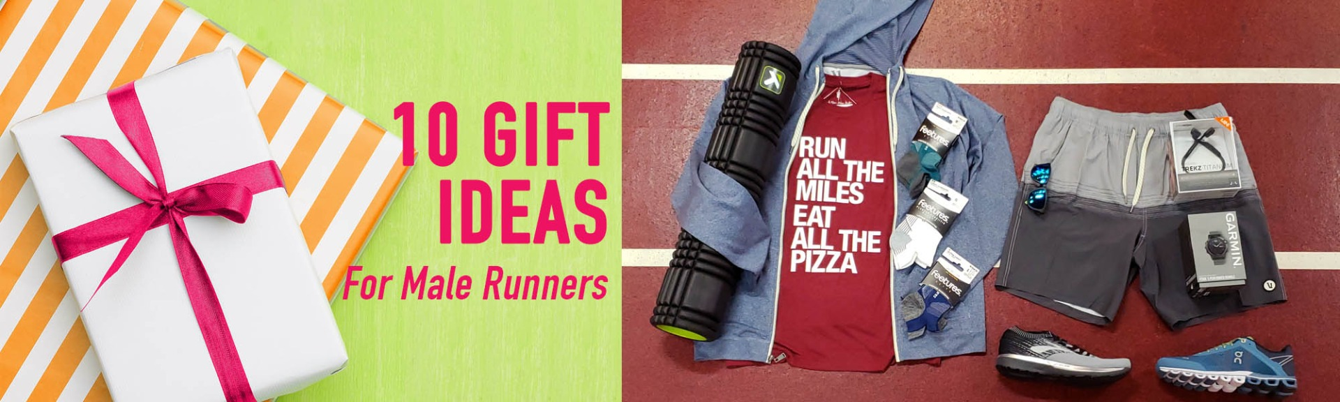 10 Gift Ideas for Male Runners
