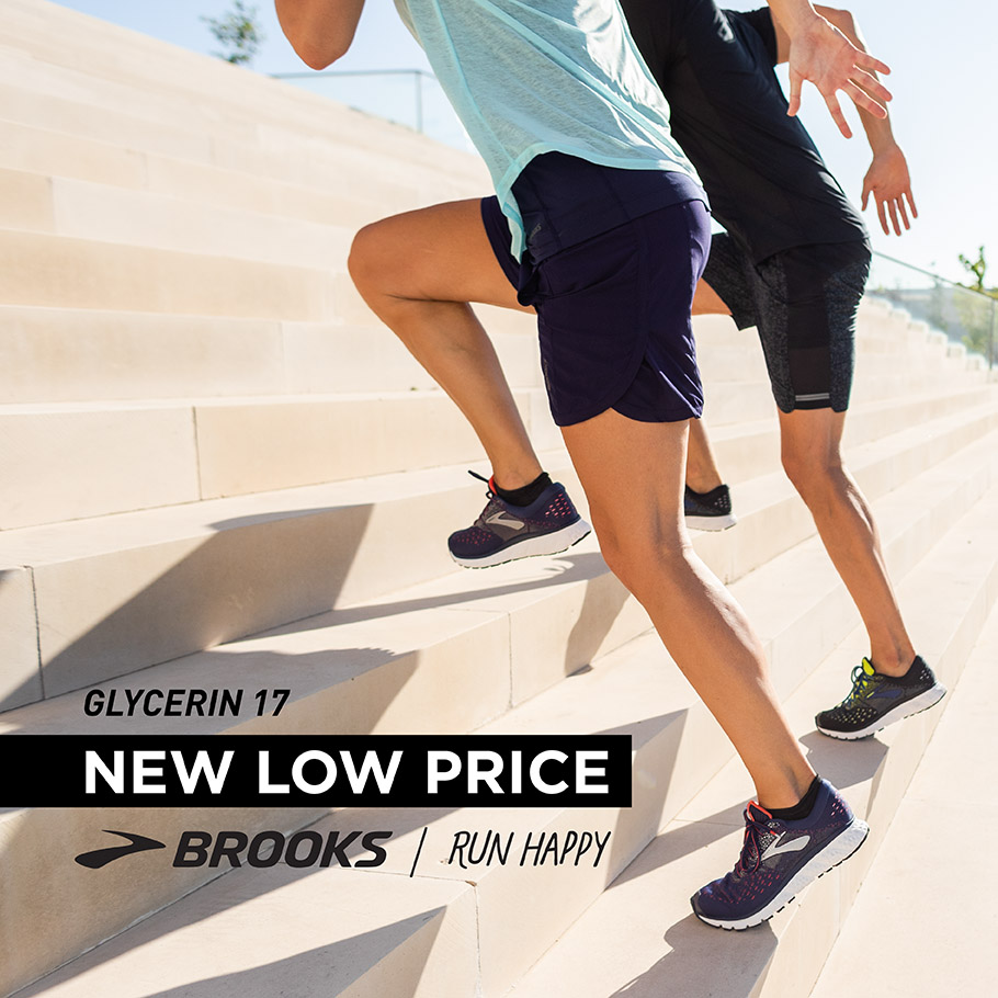 Brooks Glycerin 17 now at NEW LOW PRICE