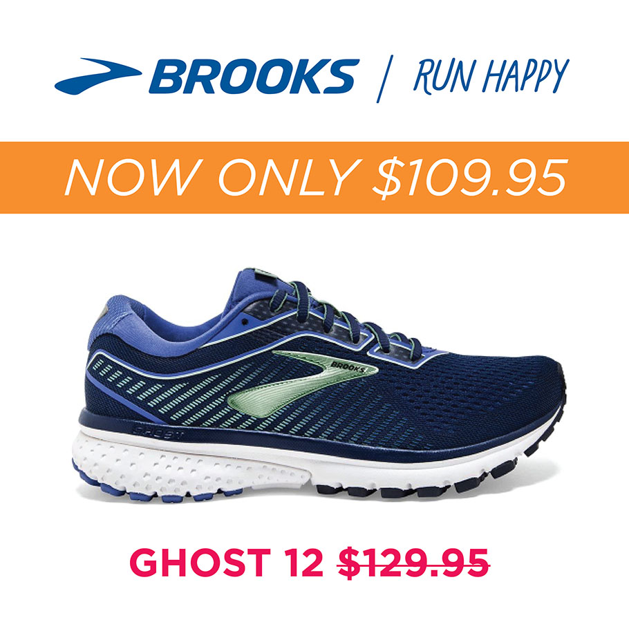 Brooks Ghost 12 now $109.95