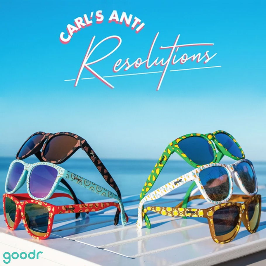 New Goodr Anti-Resolution Running Sunglasses