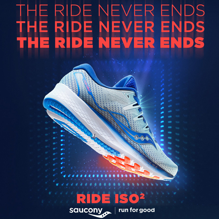 Saucony Rise ISO 2 Running Shoe