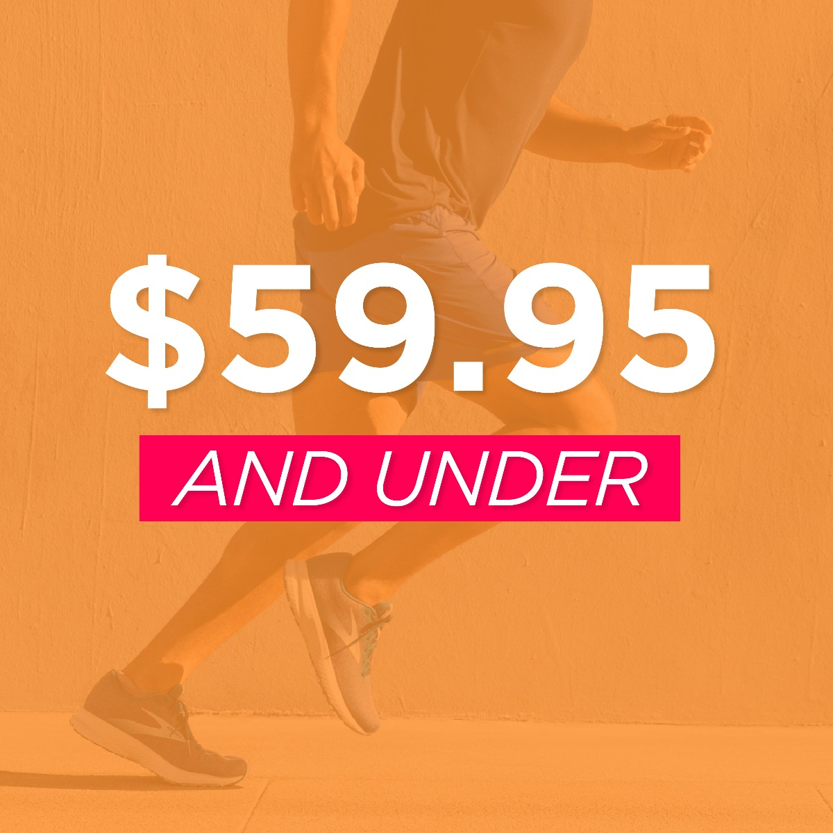 Footwear $59.95 and Under