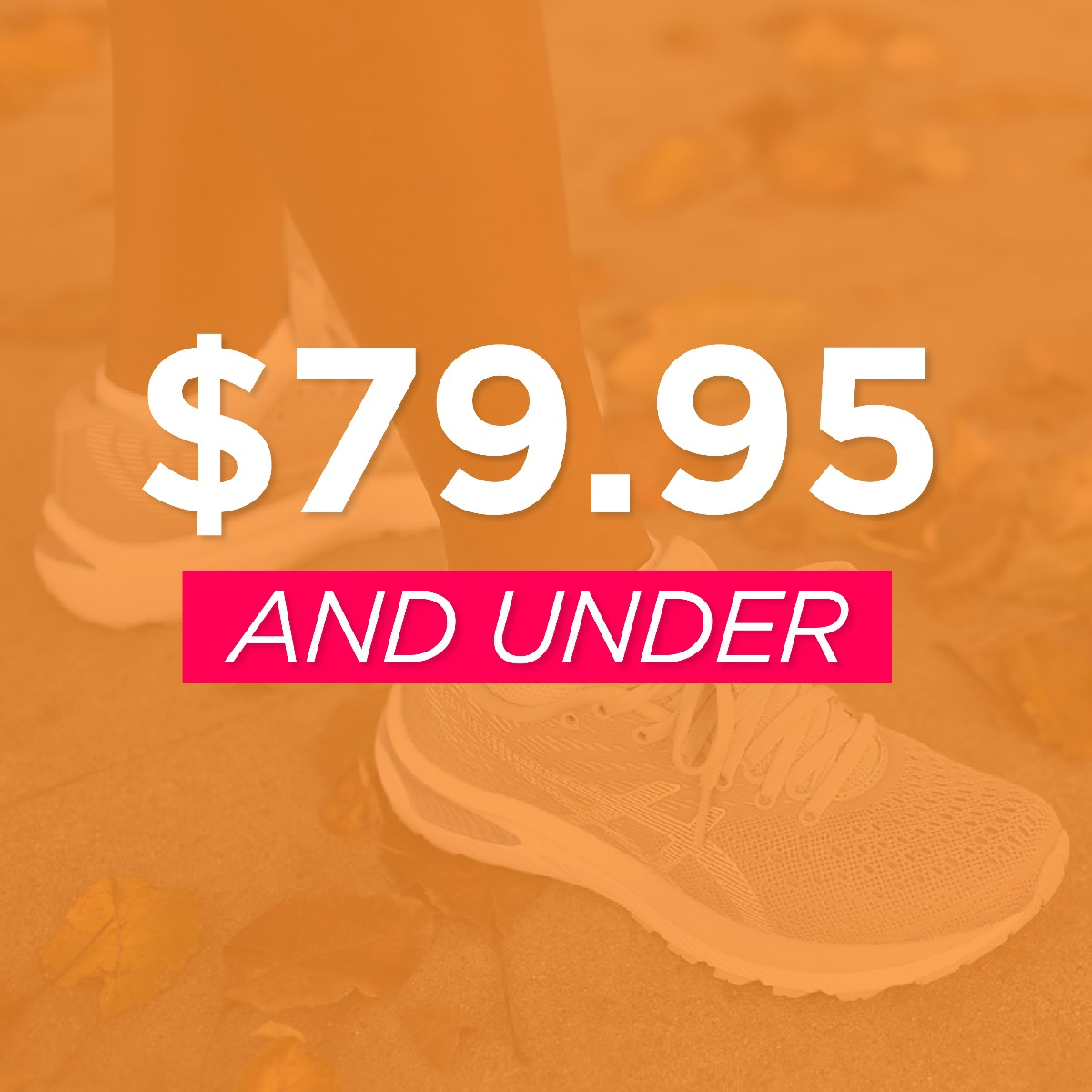 Footwear $79.95 and Under